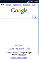 Sony Ericsson Xperia X8 - Internet - Navigation sur internet - Étape 4