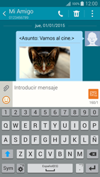 Samsung A500FU Galaxy A5 - Mensajería - Escribir y enviar un mensaje multimedia - Paso 24