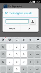 Huawei Y625 - Messagerie vocale - configuration manuelle - Étape 11