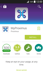 Samsung J100H Galaxy J1 - Applications - MyProximus - Step 8
