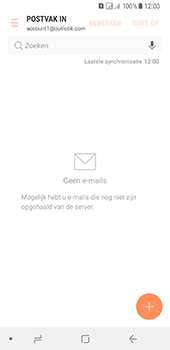 Samsung Galaxy A8 (2018) - E-mail - e-mail instellen (outlook) - Stap 12