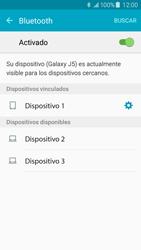 Samsung Galaxy J5 - Bluetooth - Conectar dispositivos a través de Bluetooth - Paso 8