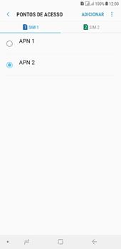 Samsung J4+ - Internet (APN) - Como configurar a internet do seu aparelho (APN Nextel) - Etapa 18