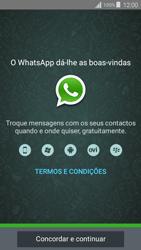 Samsung Galaxy Grand Prime - Aplicações - Como configurar o WhatsApp -  5