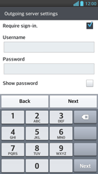 LG P875 Optimus F5 - Email - Manual configuration - Step 13