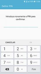 Samsung Galaxy J5 (2016) DualSim (J510) - Segurança - Como ativar o código de bloqueio do ecrã -  9