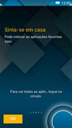 Alcatel POP C7 - Primeiros passos - Como ligar o telemóvel pela primeira vez -  11