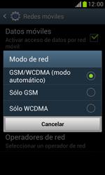 Samsung S7560 Galaxy Trend - Red - Seleccionar el tipo de red - Paso 7