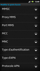 Sony MT27i Xperia Sola - MMS - Configuration manuelle - Étape 12