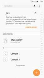 Samsung Galaxy S6 Edge - Android Nougat - Contacten en data - Contacten overzetten via Bluetooth - Stap 4