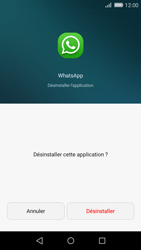 Huawei P8 Lite - Applications - Supprimer une application - Étape 6