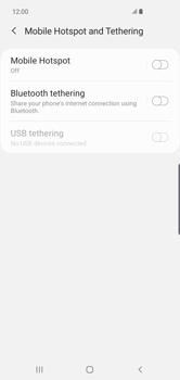 Samsung Galaxy S10 Plus - Internet - Set up mobile hotspot - Step 6