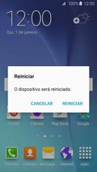 Samsung Galaxy S6 - Funções básicas - Como reiniciar o aparelho - Etapa 4