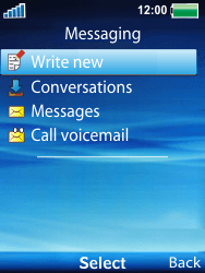Sony Ericsson W100i Spiro - Mms - Sending a picture message - Step 3