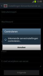 Samsung I9305 Galaxy S III LTE - E-mail - Account instellen (IMAP zonder SMTP-verificatie) - Stap 11