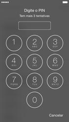 Apple iPhone 5s iOS 8 - Primeiros passos - Como ligar o telemóvel pela primeira vez -  5