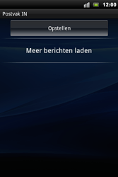 Sony Xperia Mini Pro - E-mail - Handmatig instellen - Stap 4