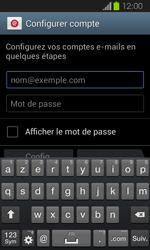 Samsung Galaxy Express - E-mails - Ajouter ou modifier un compte e-mail - Étape 5