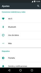 Motorola Moto G 3rd Gen. (2015) (XT1541) - Red - Seleccionar el tipo de red - Paso 4