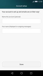 Huawei P8 Lite - E-mail - Manual configuration (yahoo) - Step 9