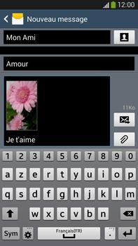 Samsung Galaxy Note 3 - Contact, Appels, SMS/MMS - Envoyer un MMS - Étape 20