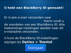 BlackBerry 9790 Bold - BlackBerry activeren - BlackBerry ID activeren - Stap 12