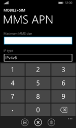 Microsoft Lumia 532 - MMS - Manual configuration - Step 10