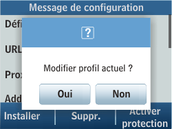 Samsung C3500 Chat 350 - MMS - Configuration automatique - Étape 5