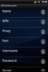Sony Ericsson Xperia Mini Pro - Mms - Manual configuration - Step 8