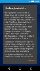 Sony Xperia M4 Aqua - Primeiros passos - Como ativar seu aparelho - Etapa 11