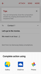 Samsung A5 (2016) - Email - Sending an email message - Step 12