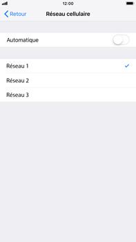 Apple iPhone 7 Plus - iOS 12 - Réseau - utilisation à l'étranger - Étape 8