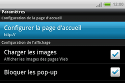 HTC A810e ChaCha - Internet - configuration manuelle - Étape 15
