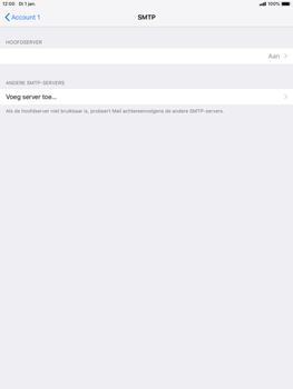 Apple ipad-mini-5-7-9-inch-2019-model-a2124 - E-mail - Account instellen (POP3 zonder SMTP-verificatie) - Stap 20