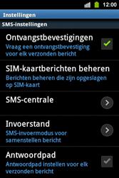 Samsung S5830i Galaxy Ace i - SMS - handmatig instellen - Stap 4