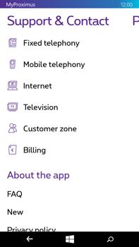 Microsoft Lumia 640 XL - Applications - MyProximus - Step 24