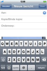 Apple iPhone 4 met iOS 5 - E-mail - Hoe te versturen - Stap 7