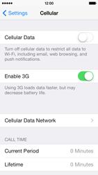 Apple iPhone 5c - Internet - Manual configuration - Step 4