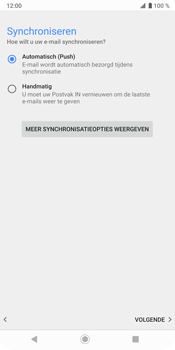 Sony Xperia XZ3 - E-mail - e-mail instellen (outlook) - Stap 14