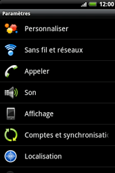 HTC A510e Wildfire S - Messagerie vocale - Configuration manuelle - Étape 4