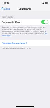 Apple iPhone XS - Données - créer une sauvegarde avec votre compte - Étape 12