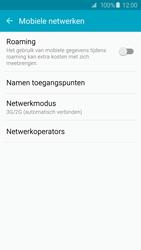Samsung G920F Galaxy S6 - Netwerk - Wijzig netwerkmodus - Stap 5