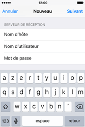 Apple iPhone 4 S iOS 9 - E-mail - Configuration manuelle - Étape 13