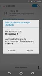 Sony Xperia Z3 - Bluetooth - Conectar dispositivos a través de Bluetooth - Paso 7