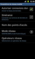 Samsung I9100 Galaxy S II - Réseau - utilisation à l'étranger - Étape 9
