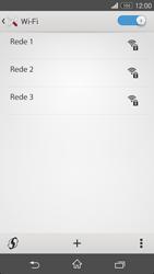 Sony Xperia M2 - Wi-Fi - Como ligar a uma rede Wi-Fi -  6
