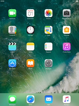 Apple iPad Air 2 iOS 10 - E-mail - Configuration manuelle (yahoo) - Étape 1