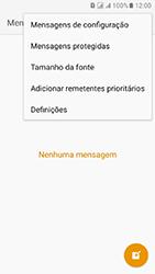 Samsung Galaxy J5 (2016) DualSim (J510) - SMS - Como configurar o centro de mensagens -  5