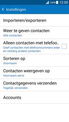Samsung G530FZ Galaxy Grand Prime - Contacten en data - Contacten kopiëren van toestel naar SIM - Stap 7