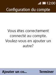 Nokia 8110 Banana - E-mail - Configuration manuelle - Étape 17